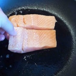 Salmon with Brown Butter & Thyme Sauce Recipe