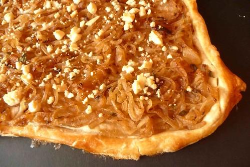 Caramelized Onion & Gorgonzola Tart