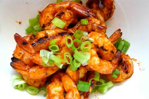 Grilled Shrimp with a Kick