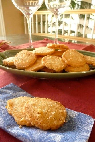 Cheddar & Parmesan Crackers