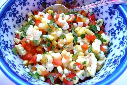 Corn Salsa with Zing