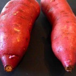 Grilled Sweet Potatoes with Pancetta & Sage Vinaigrette Recipe