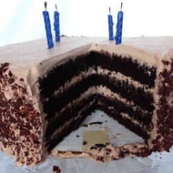 Chocolate Mouse Layer Cake
