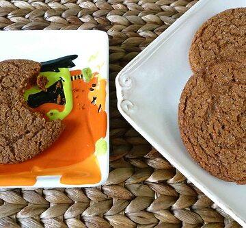 Molasses & Brown Sugar Spice Cookies Recipe
