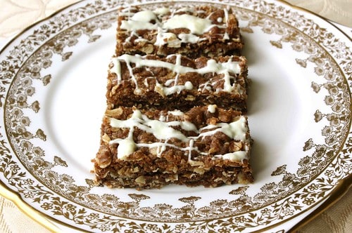 Brown Butter & Chocolate Oatmeal Bars Recipe