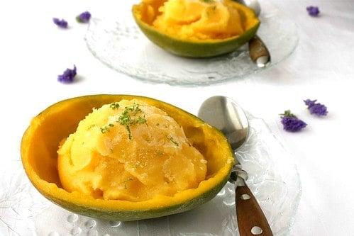 Mango & Lime Sorbet