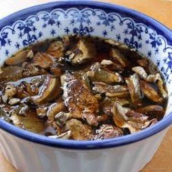 """Porcini & Crimini Mushroom Orzo """"Risotto"""" Recipe"""