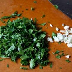 Seared Scallops with Chimichurri Dressing Recipe