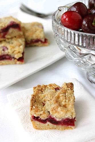 Summer Cherry & Crystallized Ginger Bar Recipe