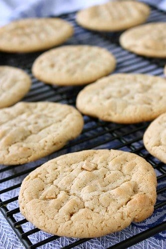 Easy Cashew Butter Cookie Recipe