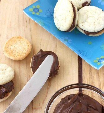 Nutella Sugar Sandwich Cookie Recipe