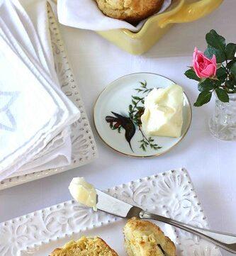 Corn Muffin with Poblano Chile Peppers, Fresh Corn & Queso Fresco Cheese Recipe