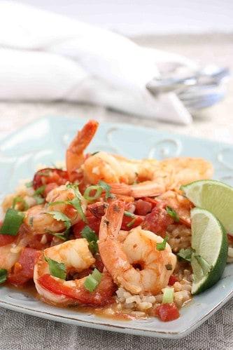 Pam Anderson's Spicy Coconut Shrimp Stew Recipe