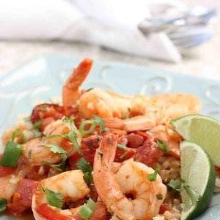 Spicy Coconut Shrimp Stew