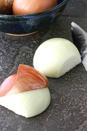 How to Chop an Onion - This step-by-step tutorial shows you how to chop an onion in minutes!
