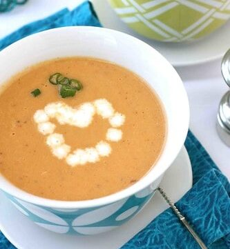 Silky Shrimp Bisque Recipe with Sherry for Valentine's Day
