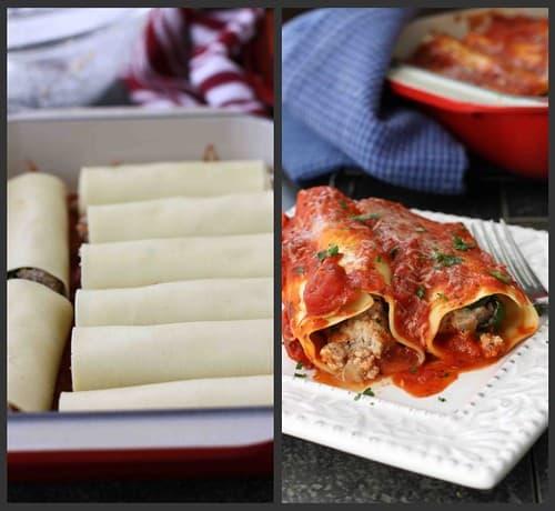 Turkey Cannelloni Collage 2