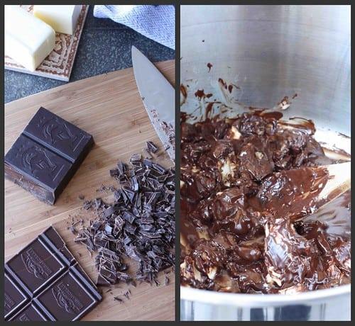 Irish Cream Brownies Collage 1