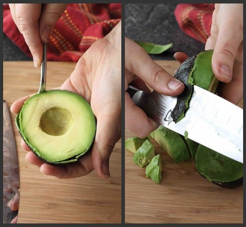 How to: Prepare an Avocado Collage 2
