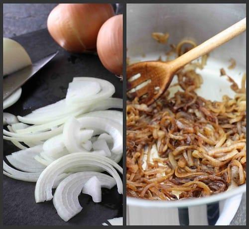 Mushroom Tortellini Soup Collage