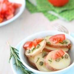 Potato Salad Recipe with Rosemary & Capers Dressing