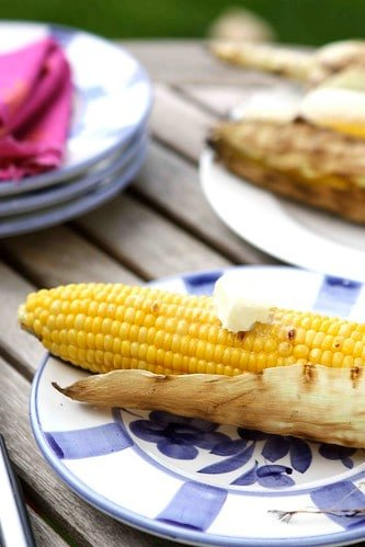 How to Grill Corn Recipe