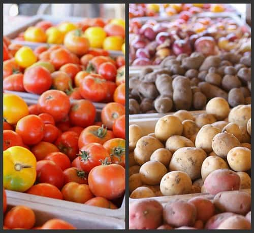 Farm Stand Collage 2