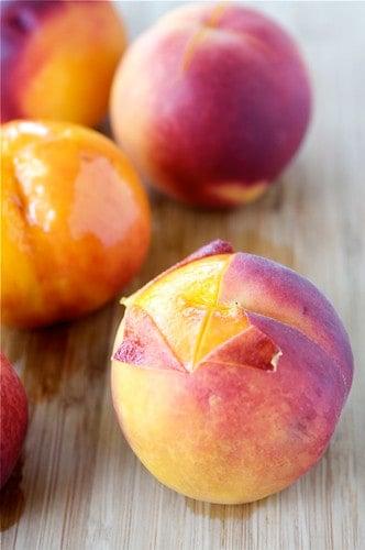 How to: Peel a Peach