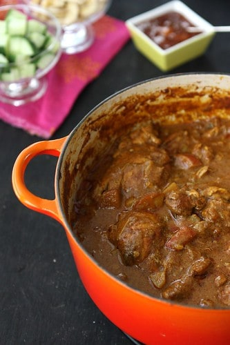 My mum's chicken potato curry recipe is a favorite with all of our family and friends. Easy to make and insanely delicious! #chickenrecipes #curryrecipe