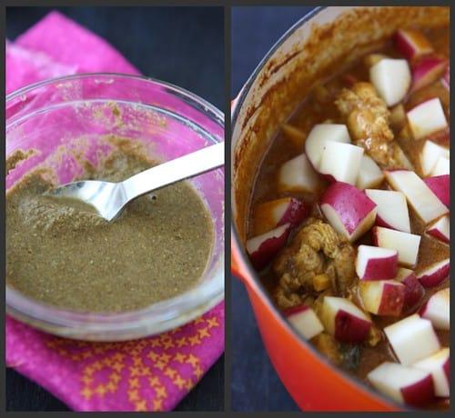 Mum's Chicken Curry Collage 3