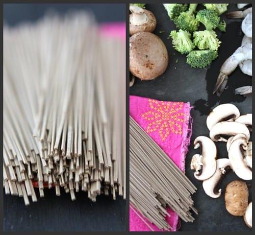 Shrimp Mushroom Soup Collage