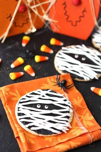 Halloween Mummy Cookies Recipe