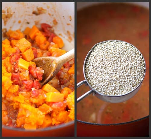Hearty Chicken Stew with Butternut Squash and Quinoa...The most popular recipe on my site! 330 calories and 5 Weight Watchers Freestyle SP
