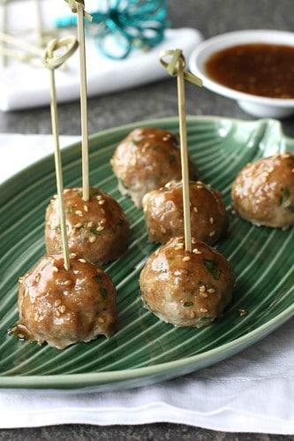 Baked-Teriyaki-Turkey-Meatball-Recipe-Cookin-Canuck