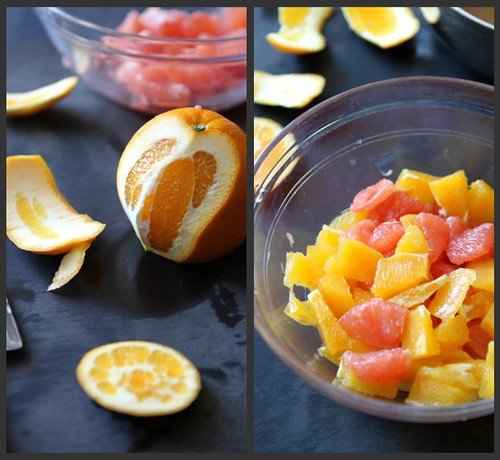Grapefruit Compote Collage 2