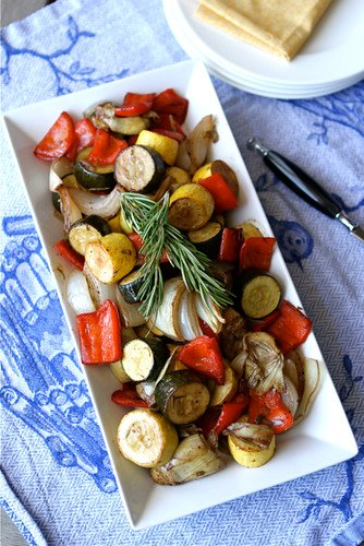 Balsamic-Roasted-Vegetable-Recipe-with-Rosemary-Artichokes &-Zucchini-Cookin-Canuck