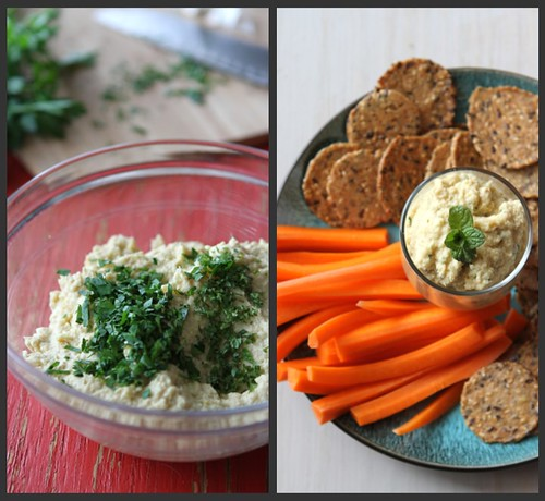 Artichoke Hummus Collage 2