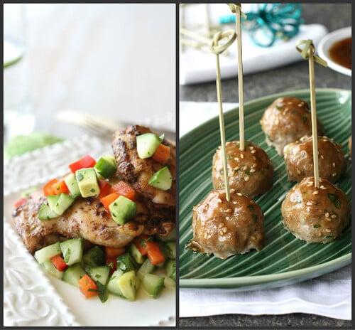 ChickenMeatballCollage