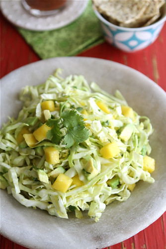 This Mexican slaw will happily stand on its own as a side dish, but adds an extra layer of flavor and crunch to fish or shrimp tacos.