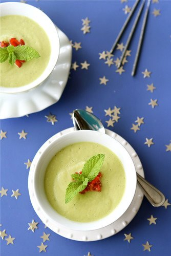 Chilled California Avocado Soup with Coconut Milk Recipe