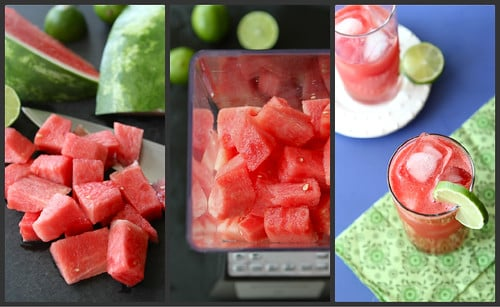 Watermelon Limeade Vodka Cooler Recipe & TV Fun