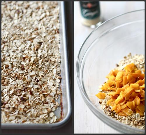 Low Fat Granola Bars with Mango, Hazelnut & Ginger Recipe