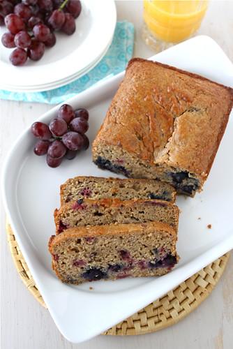 Lemon, Yogurt, Berry & Ginger Whole Wheat Quick Bread Recipe