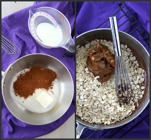 Light(er) No-Bake Cookies Recipe with Dulce de Leche & Oatmeal