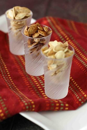 Roasted Pumpkin Seed Recipe: Three Ways
