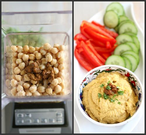 Creamy Curry Hummus Recipe: A Healthy Snack