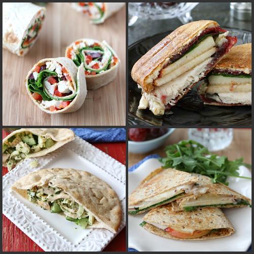 TurkLeftover Turkey & Ham Recipe IdeaseyCollage1