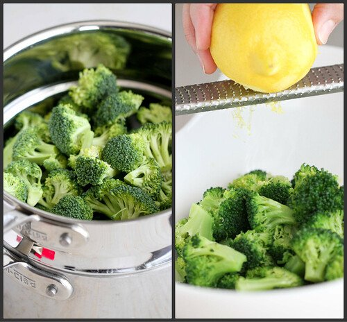 Lemon Pepper Steamed Broccoli Recipe