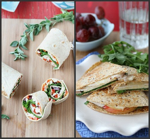 Easy, low-fat lunch recipes