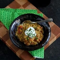 Curried Red Lentil Stew Recipe with Tomatoes by Cookin' Canuck